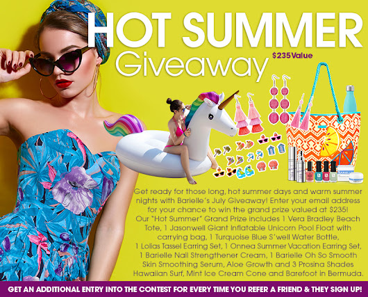 Barielle: Hot Summer Giveaway