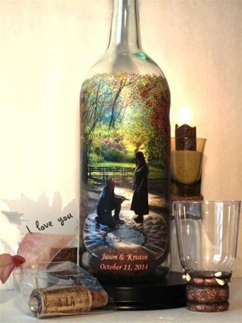 8 Recycled Wine Bottle Decorations For Your Wedding   Weddbook