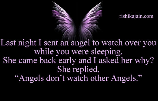 Good Morning Dear Last Night I Sent An Angel Inspirational Quotes