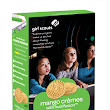 Mango Crèmes, A Girl Scout Cookie Flavored with Shiitake Mushrooms