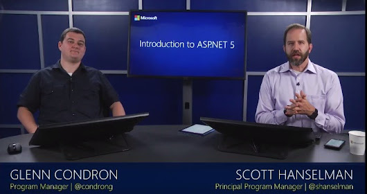 Free Training at Microsoft Virtual Academy - Introduction to ASP.NET 5