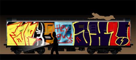LRPD vandalsquad línea pintada juego
