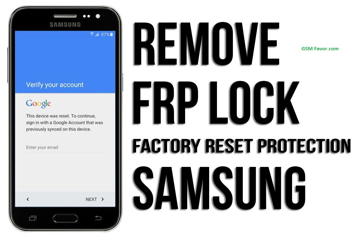 How To unlock FRP Easy Way