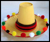 Mini<br />  Sombrero    : Cinco de Mayo Crafts Activity for Children