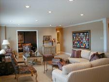 Penthouse Condo Living Room