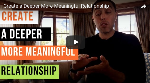 Create a Deeper More Meaningful Relationship | Jairek Robbins
