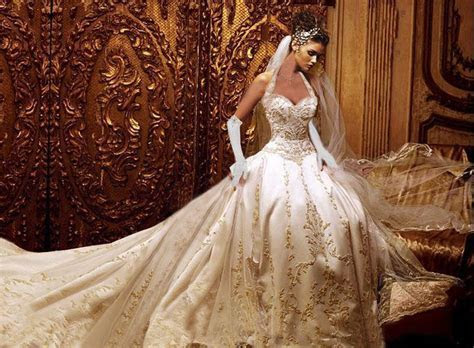 The Most Beautiful Wedding Dress In The World   Wedding