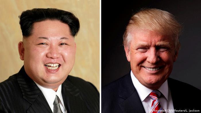 Bildkombo Kim Jong Un und Donald Trump (Reuters/KCNA//Reuters/L. Jackson)