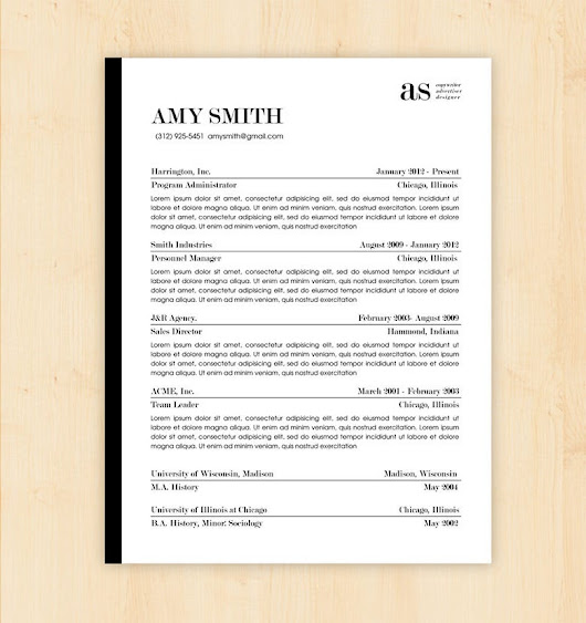 Basic Resume Template – 51+ Free Samples, Examples, Format Download! | Free & Premium Templates