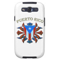 Puerto Rico - Shield Galaxy SIII Case