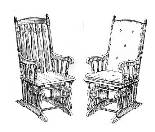 Tamon: Popular Plans for glider chair