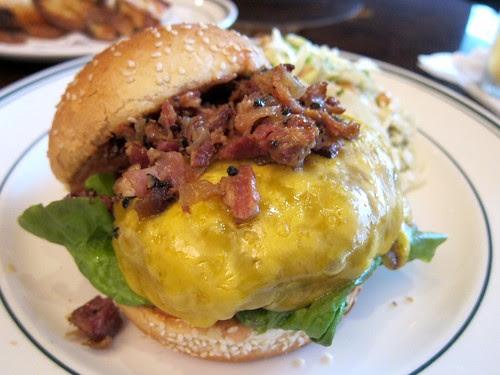 Pepper Bacon Burger