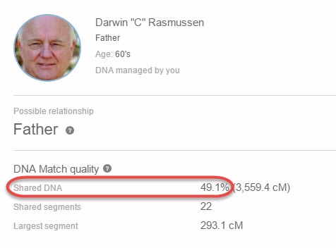 Finally, a DNA statistics I can almost understand