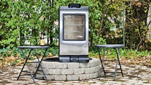 "Masterbuilt 40"" Electric Smoker with Bluetooth 
