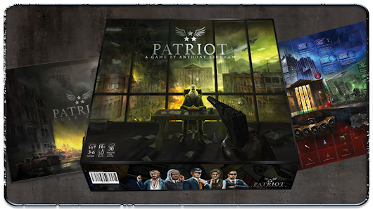 Patriot: a massive board game for 3 to 6 players!