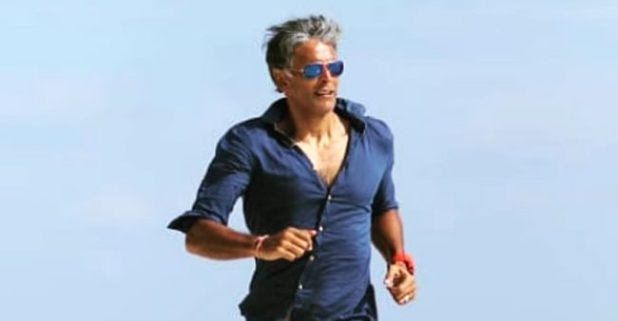 I'm not aware about fitness regime. I have a very fluid approach, says Milind Soman