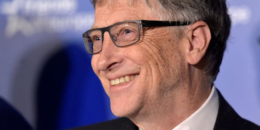 Bill Gates: Trust me, the world is really getting better, not worse