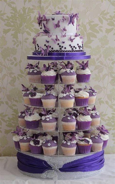 Cupcake Wedding Cakes: 15 Super Cute Inspirations   Elasdress