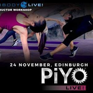 piyo instructor training edinburgh  bannatyne health
