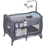 Baby Trend Trend-E Portable Nursery Center Play Yard w/ Wheels, Starlight Blue by VM Express