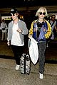 alfie allen jets into lax with girlfriend 03