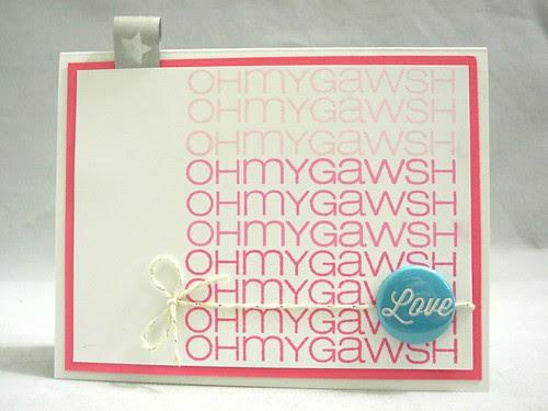 Oh My Gawsh: LOVE!