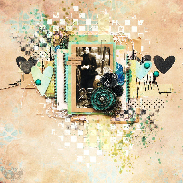 memories treasure - 7DS & Sizzix