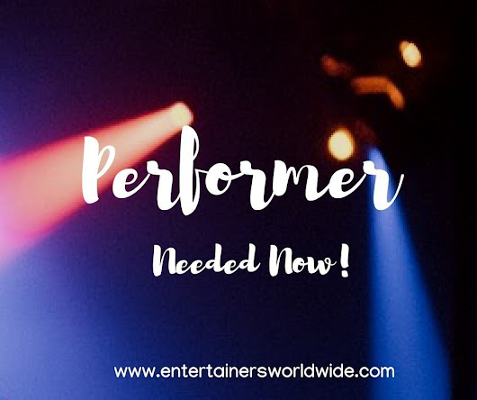 Tribute Acts & Female Singers Wanted! Summer Season Hotel Work Spain 2019