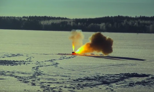 Can thermite burn through a frozen lake? - Popular Mechanics