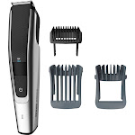 Philips Norelco - 5000 series Trimmer with 3 Guide Combs - Black/Silver