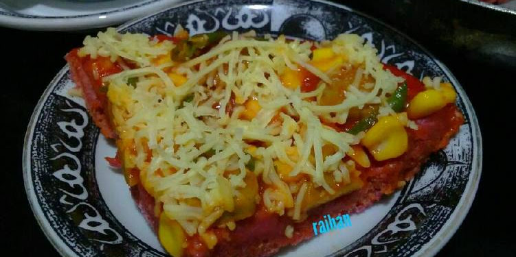 Resep Pizza Buah Bit Alakadar Oleh Raihan Rusli