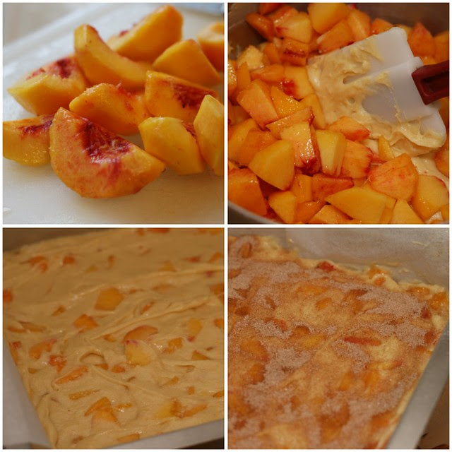 Peach Buckle collage 1