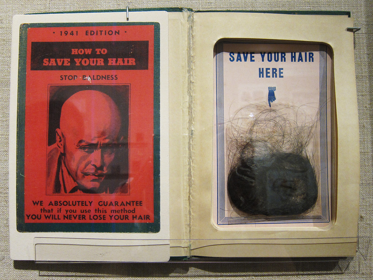 """""""How to Save Your Hair"""" (1941 edition of mid-19th c. publication)"""