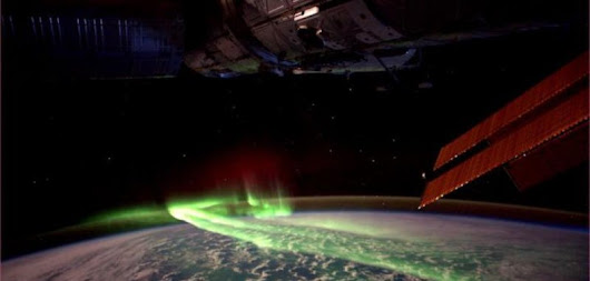 Solar storms remove electrons from large portions of Earth's atmosphere