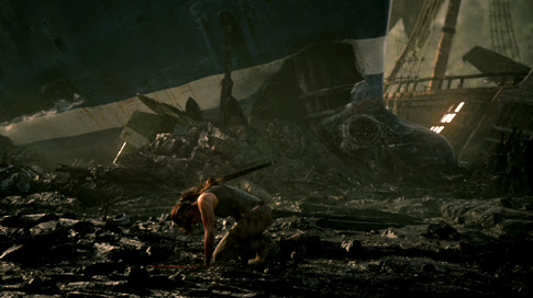Still from new Tomb Raider 'Turning Point' trailer