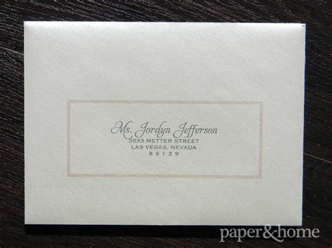 Modern Classic Wedding Invitations: Amy & Eric   Paper and