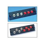 FiberOpticx Adapter Plate - FC - 8 Port Multimode / Singlemode - Metal