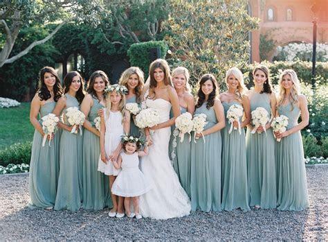 Black Tie Secret Garden Wedding   Bridesmaid Dresses