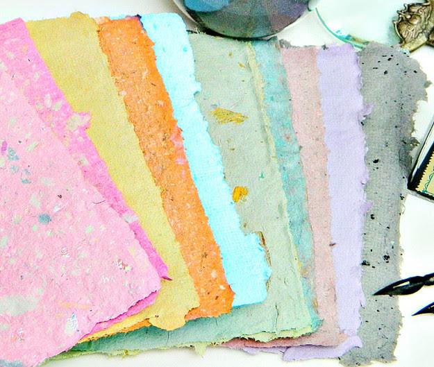 6. Бумага из переработанных бумажных отходов дети, поделки, своими руками, сделай сам, творчество