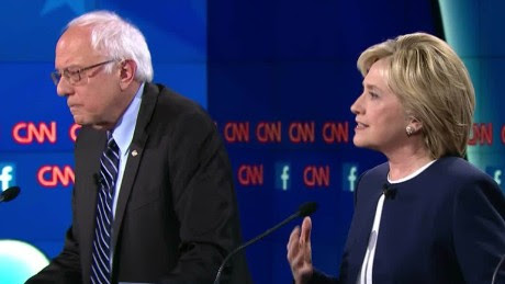 Focus Groups/Online Polls Call Sanders the Winner; Media Call Clinton the Winner