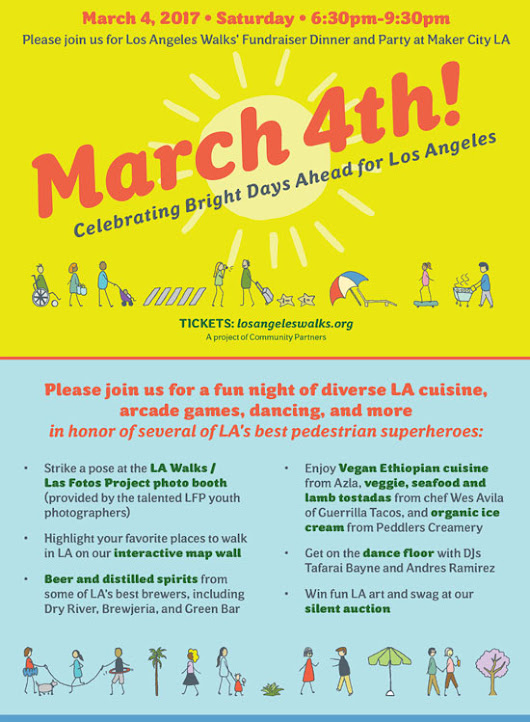 Los Angeles Walks' Fundraiser is Around the Corner - Curating Los Angeles