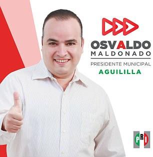 Son neveu accusant son adversaire Osvaldo Maldonado (photo) d'orchestrer le meurtre