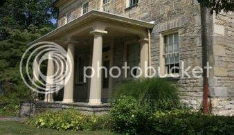 building in Putnam where slaves were sheltered