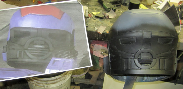 Mk5 Helmet Progress