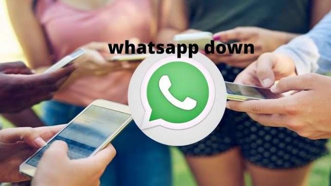 WhatsApp down: व्हाट्सएप डाउन, यूजरों को फोटो, GIF, स्टिकर और वीडियो भेजने में हो रही दिक्कत