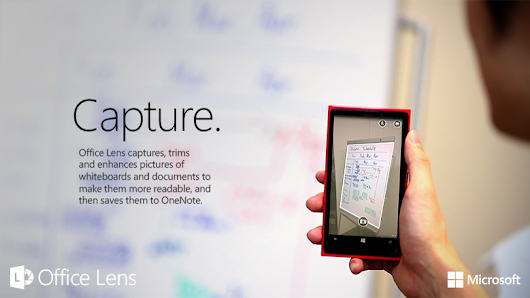 App of the Week: Office Lens for OneNote, Bridging the Physical and Digital