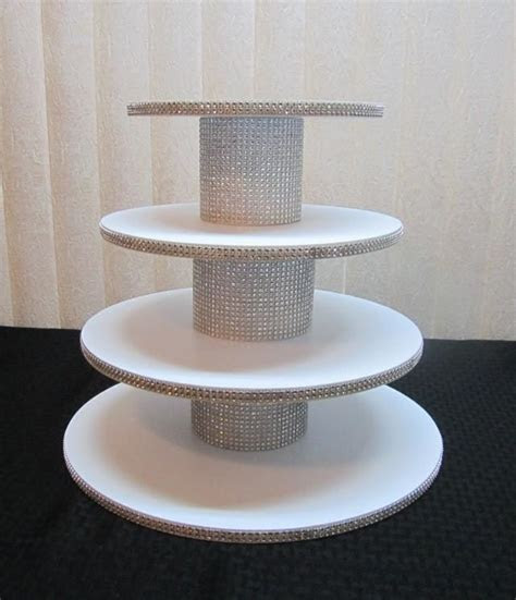35   45 Cupcakes, 4 Tier Round Or Square Cupcake Stand
