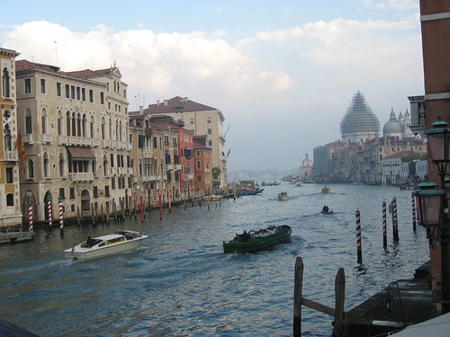 View of the Grand Canal from the Accademia Bridge