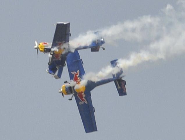 Flying-Bulls-Accident - Aero-India - 2015