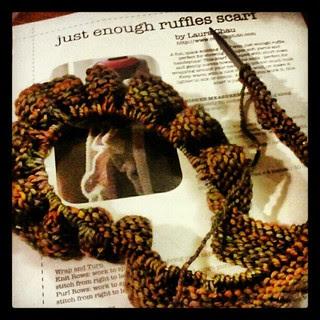 I love this yarn! #malabrigo #knitting #knitstagram #scarf #getyourkniton #yarn #handmade #crafting